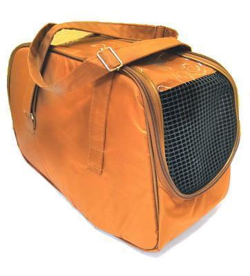 DOGMAN Сумка -переноска для собак №7 кирпичная, размер 40х19х25см. (фото, вид 1)