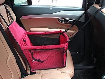 Al1 Автокресло для собак и кошек, 40х38х25 см, цвет красный (фото, вид 1)