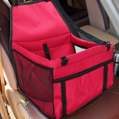 Al1 Автокресло для собак и кошек, 40х30х25 см, цвет красный (фото, вид 3)