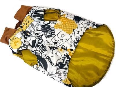 ZooAvtoritet Куртка-жилетка на синтепоне цветная, размер XL, спина 38-40см (фото, вид 2)