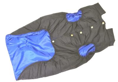 LifeDog Попона для больших пород собак, размер 7XL, синяя, спина 70см (фото, вид 2)