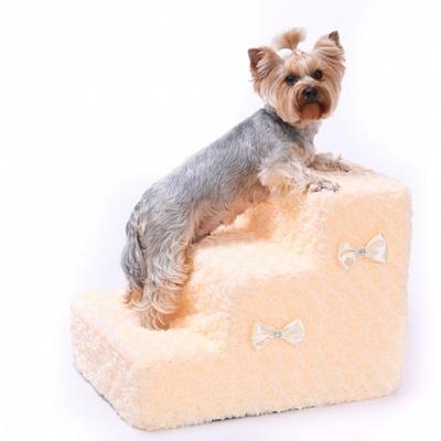 """P&D Лестница - ступеньки для собак """"Безе"""", 3 ступени 48x40x36 см (фото, вид 1)"""