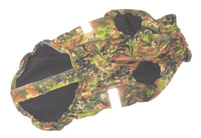 SportDog Куртка-попона на флисе для собак, камуфляж зеленый, спина 55см (фото, вид 2)
