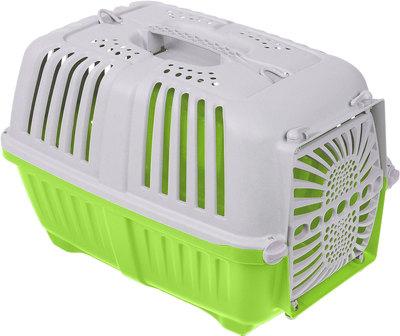 """MPS Переноска для собак """"Pratiko"""" с пластиковой дверцей, размер 48*31,5*33см (фото, вид 1)"""