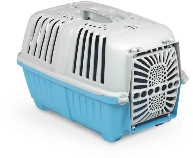 """MPS Переноска для собак """"Pratiko"""" с пластиковой дверцей, размер 48*31,5*33см (фото, вид 2)"""