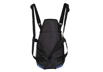 Al1 Рюкзак-переноска для собак джинса, размер XL (фото, вид 1)