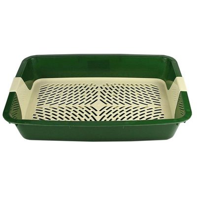 DOGMAN Туалет с сеткой для собак и кошек большой, 42,0*31,0*7,0см (фото, вид 4)