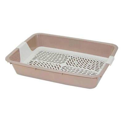 DOGMAN Туалет с сеткой для собак и кошек большой, 42,0*31,0*7,0см (фото, вид 5)