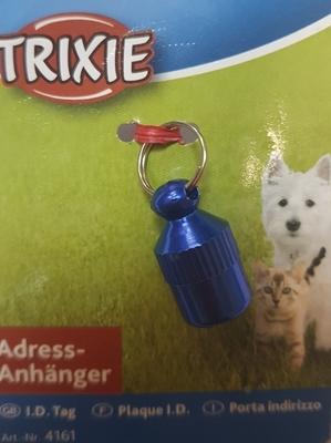 TRIXIE Медальон-адресник для собак и кошек цветной (фото, вид 1)