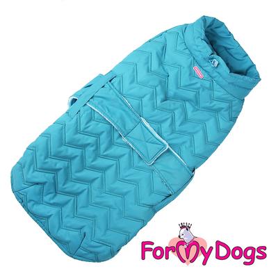 ForMyDogs Попона для собак породы вест хайленд уайт терьер, голубая, размер А0 (фото, вид 1)