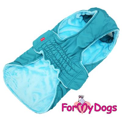 ForMyDogs Попона для собак породы вест хайленд уайт терьер, голубая, размер А0 (фото, вид 2)