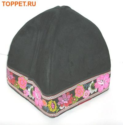 FAUNA INT Домик GIPSY IGLOO черный, 40х40х30см, велюр (фото, вид 1)
