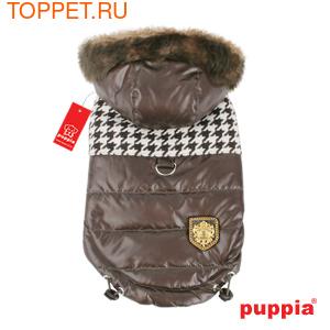 Puppia Двухсторонняя куртка Модель Люксор, цвет коричневый, размер L (фото, вид 1)