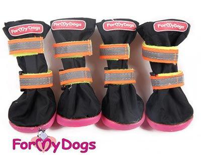 ForMyDogs Сапоги для больших собак из непромокаемой двухслойной ткани на резиновой подошве, размер №5, №6