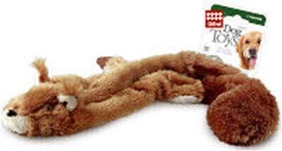 GiGwi Игрушка для собак Белка с пищалкой