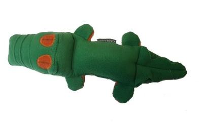 """Osso Fashion Игрушка для собак из флиса Крокодил с """"неубиваемой"""" пищалкой 38,0х 8,0 см (фото)"""
