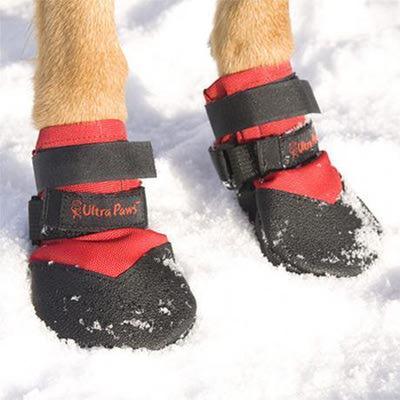 АНТ Ботинки для собак Ultra Paws Durable Dog Boots( 4 шт) водонепроницаемые (фото)
