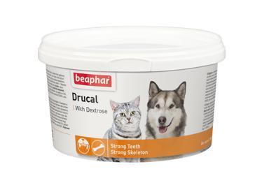Beaphar Drucal Известковая смесь 250г добавка для собак и кошек (фото)