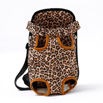 "Al1 Рюкзак-переноска для собак, расцветка ""Леопард"", размер S"