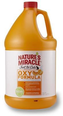 8 in 1 Уничтожитель пятен и запахов от кошек NM JFC Orange-Oxy Formula 3,7 л