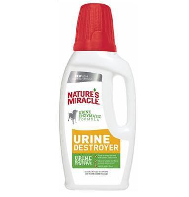 8 in 1 Уничтожитель пятен, запахов и осадка от мочи собак NM Urine Destroyer 945 мл new
