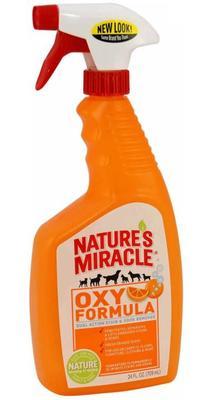 8 in 1 Уничтожитель пятен и запахов от собак NM Orange-Oxy Formula спрей 710 мл