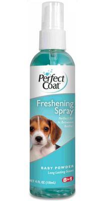 8 in 1 Средство для собак PC Freshening Spray освежающее с ароматом детской присыпки спрей 118 мл