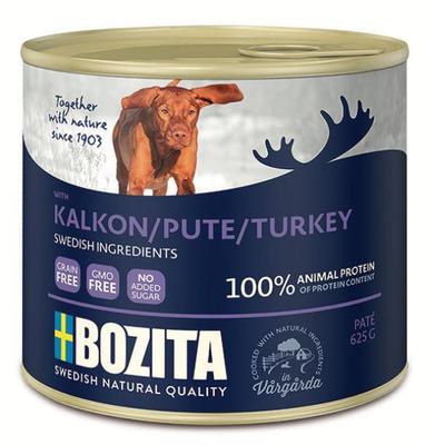 Bozita Консервы для собак мясной паштет с Индейкой 625г