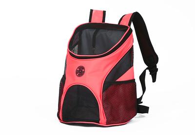Al1 Рюкзак для собак и кошек розовый, размер S - 30 x 25 x 35см