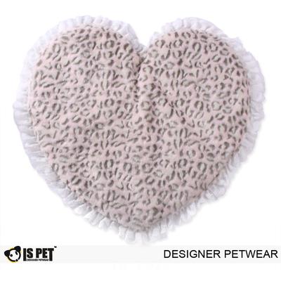 "I's Pet Коврик-лежак ""Сердце""для собак, розовый 50х47см (фото)"