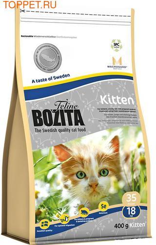 Bozita Для котят и беременных кошек с курицей, лососем и рисом, сух.400гр