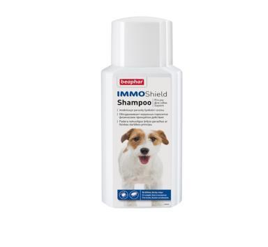 Beaphar IMMO Shield Shampoo шампунь от паразитов для собак 200 мл (фото)