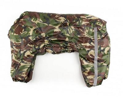ZooPrestige Комбинезон утепленный камуфляж, размер 8XL, спина 75см, синтепон