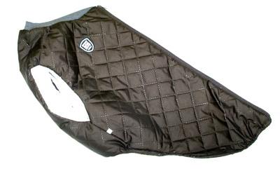 SportDog Куртка-попона меховая для собак, коричневая, спина 53см (фото)