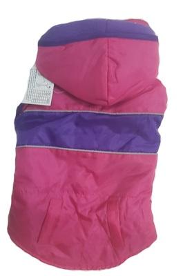 АНТ Жилет-попона для средних собак, розовый, размер S/M, спина 37см, флис