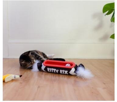 """Petstages Игрушка для кошек Трек """"Kitty Kicker"""" 40х9 см конфетка (фото)"""