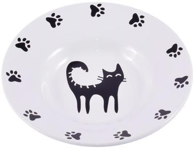 КерамикАрт Миска керамическая-блюдце для кошек 140 мл (фото)
