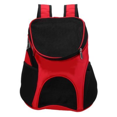 Al1 Рюкзак для собак красный, размер 33 x 30 x 24см (фото)