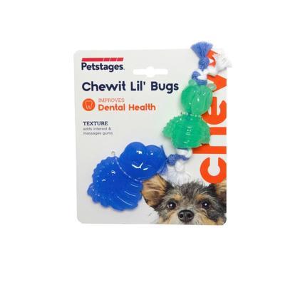 """Petstages Игрушка для собак Mini """"ОРКА жуки"""" 15 см, пара (фото)"""