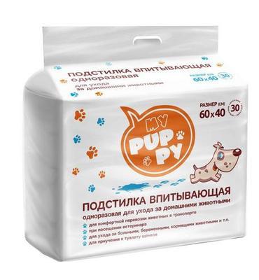 PetMil My Puppy Подстилка впитывающая одноразовая (фото)