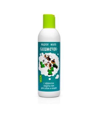 Веда Башмачок Жидкое мыло для мытья лап у кошек и собак 220мл
