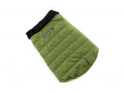 ZooAvtoritet Куртка для собак зеленая, размер XL, спина 36-40см (фото)