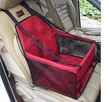 Al1 Автокресло для собак и кошек, 40х30х25 см, цвет красный (фото)