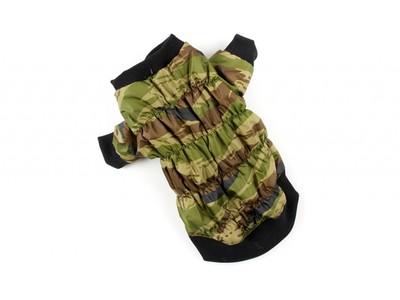 ZooPrestige Куртка для собак камуфляж зеленый, размер 3XL, спина 41-47смсм (фото)