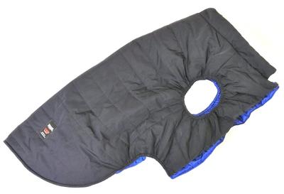 LifeDog Попона для больших пород собак, размер 7XL, синяя, спина 70см (фото)