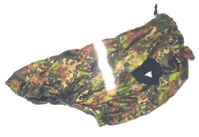 SportDog Куртка-попона на флисе для собак, камуфляж зеленый, спина 55см (фото)