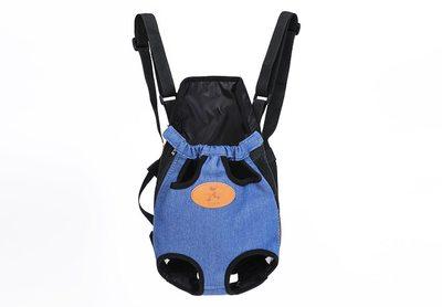 Al1 Рюкзак-переноска для собак джинса, размер XL (фото)