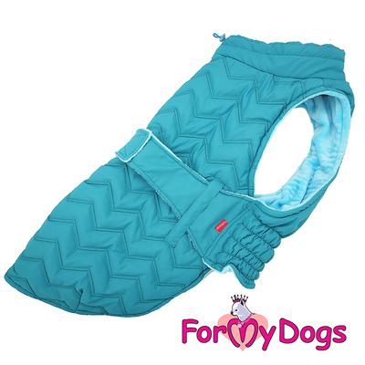 ForMyDogs Попона для собак породы вест хайленд уайт терьер, голубая, размер А0 (фото)