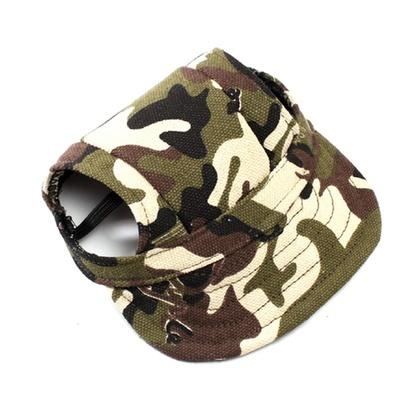 Al1 Кепка для собак камуфляж, размер М, L