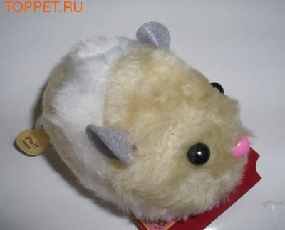 Beeztees Игрушка Хомячок, мягкая игрушка, 7см, цвет в ассортименте